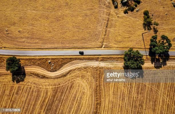 road from above - portugal fotografías e imágenes de stock