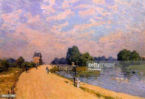 Road from Hampton Court to Molesey Sisley Alfred