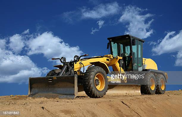 road grader - scraping stock photos and pictures