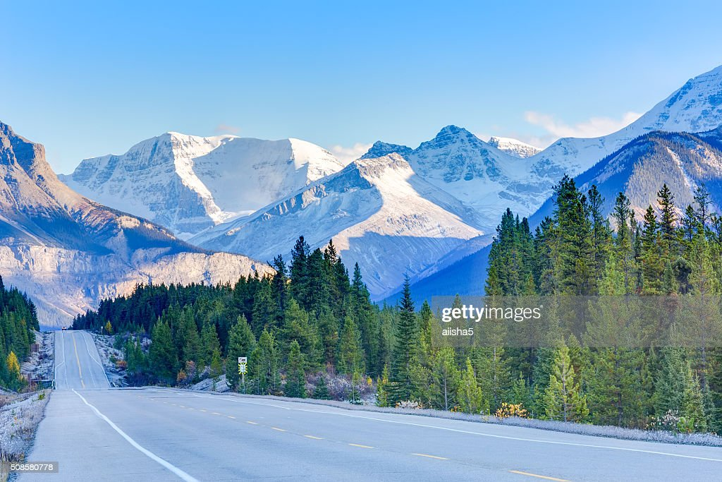 Road in Canada : Stock Photo