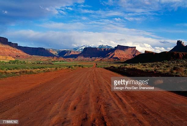 'Road in Castle Valley, Utah'