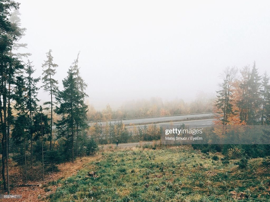 Road In Countryside : Foto stock