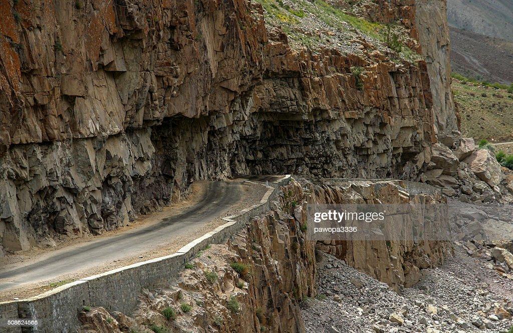 Road in Karakorum : Stock Photo