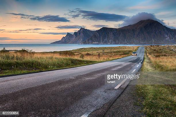 Road in Lofoten, Norway