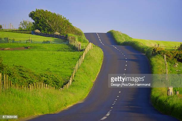Road in Northern Ireland