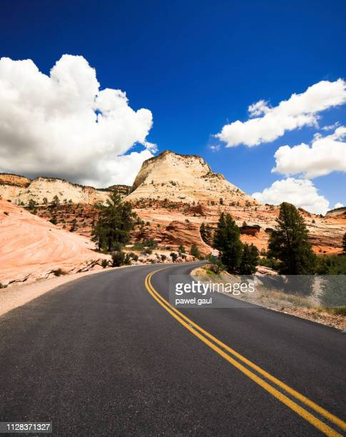 road in paria canyon in arizona - the wave coyote buttes stock pictures, royalty-free photos & images