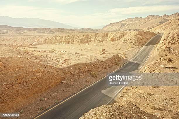 road in rocky landscape