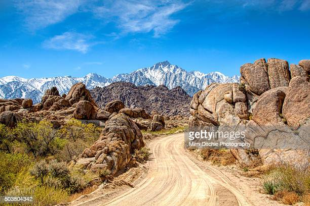 Road In The Alabama Hills