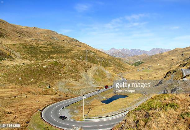 Road in the Livigno Valley