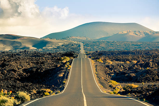 """""""Road in Timanfaya National Park, Canary islands"""""""