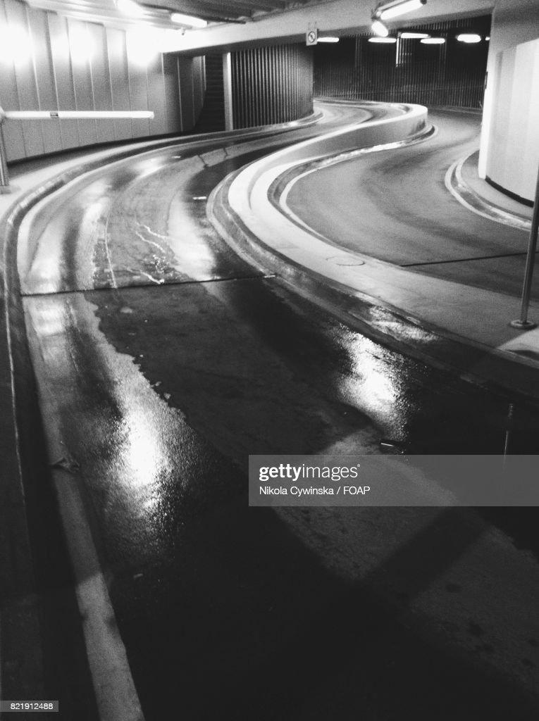 Road in tunel : Stock Photo