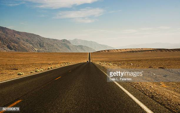 Road into Death Valley