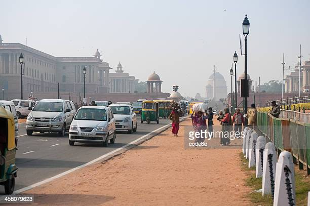 Road leading from the Indian Parliament to India Gate, Delhi