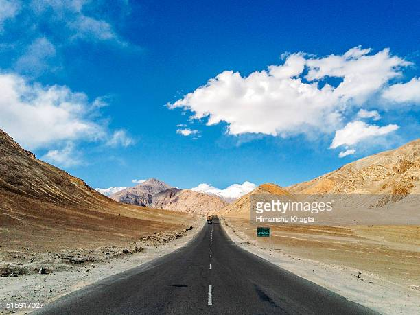 Road near Magnetic Hill, Leh, Ladakh