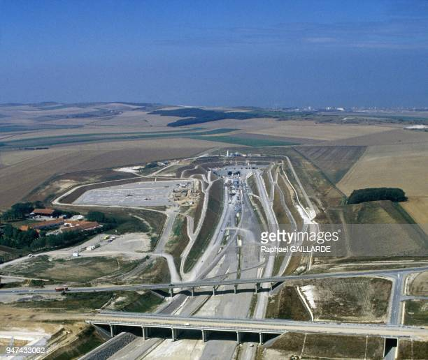 Road network to offer easy access to the Channel Tunnel at Sangatte January 5 1990