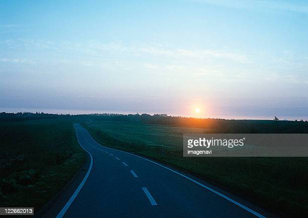Road of the Morning Glow