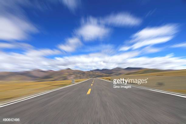 Road of Tibet Autonomous Region