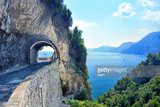 Road on Amalfi Coast, Italy