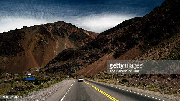 Road on the way to Aconcagua