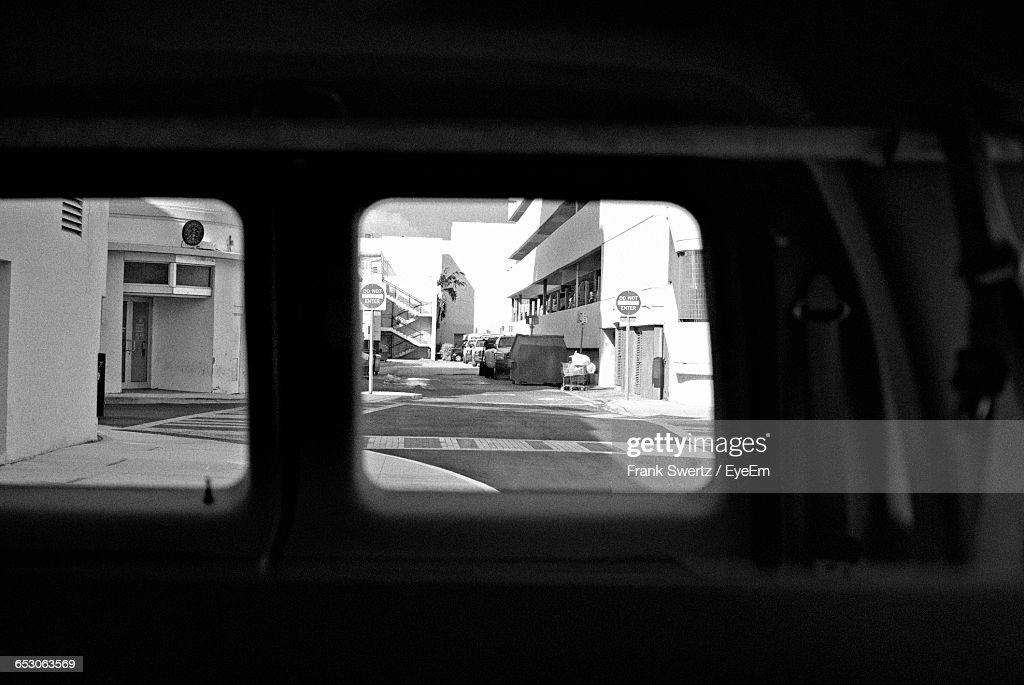 Road Passing Through City : Stock Photo