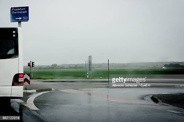 road passing through landscape - albrecht schlotter stock photos and pictures