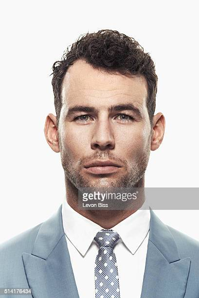 Road race cyclist Mark Cavendish is photographed for Forever Sports magazine on March 31 2015 in London England