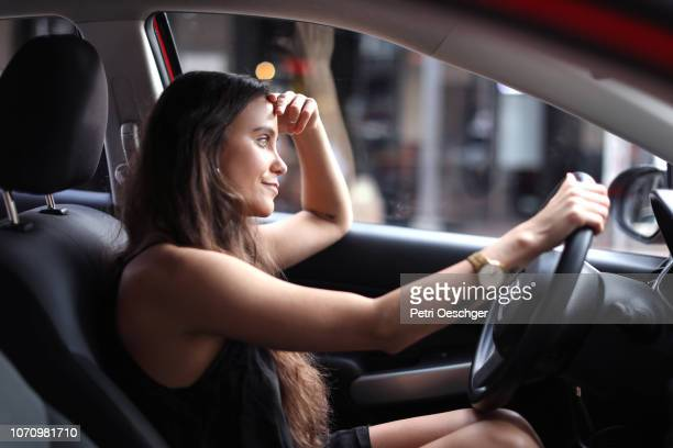 road rage. (left hand drive) - road rage stock pictures, royalty-free photos & images