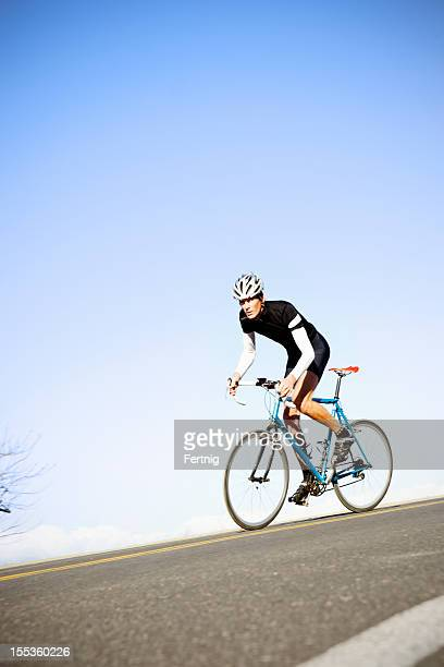Road riding cyclist training
