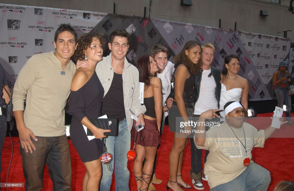 South Pacific Cast members during 2003 MTV Video Music Awards - Arrivals at Radio City Music Hall in New York City, New York, United States.