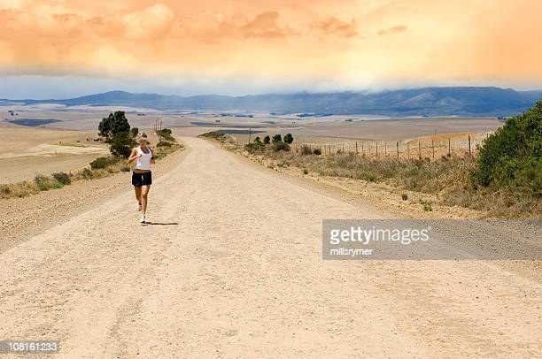 Running de estrada Céu
