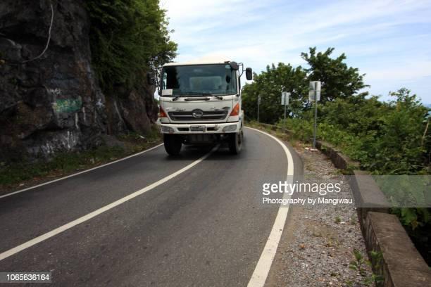 road safety - indonesia logistics ストックフォトと画像