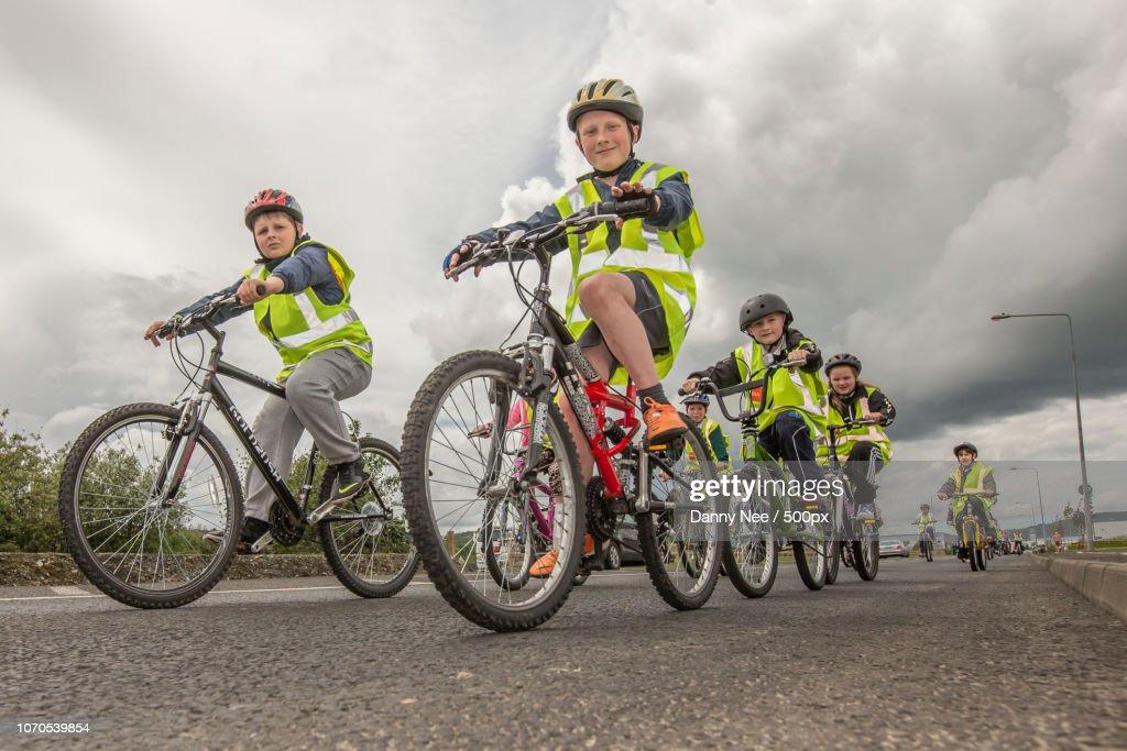 Road Safety : Foto de stock