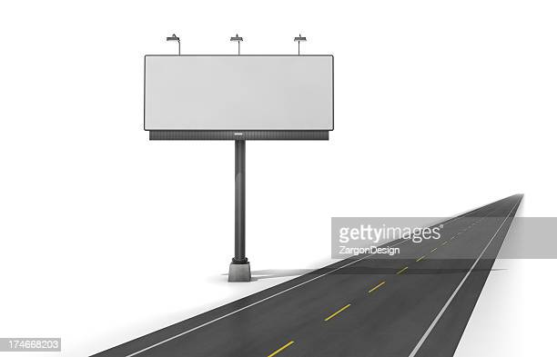 Road side billboard