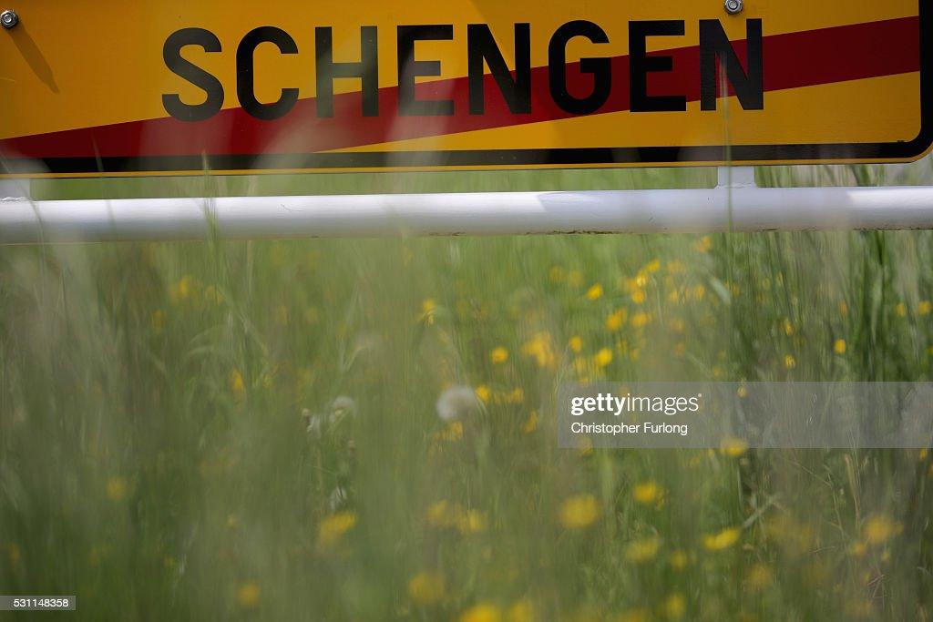 EU Referendum - The Schengen Agreement : News Photo