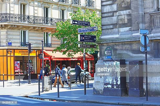 Road Sign, Paris