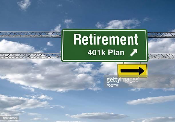 Road Sign - Retirements