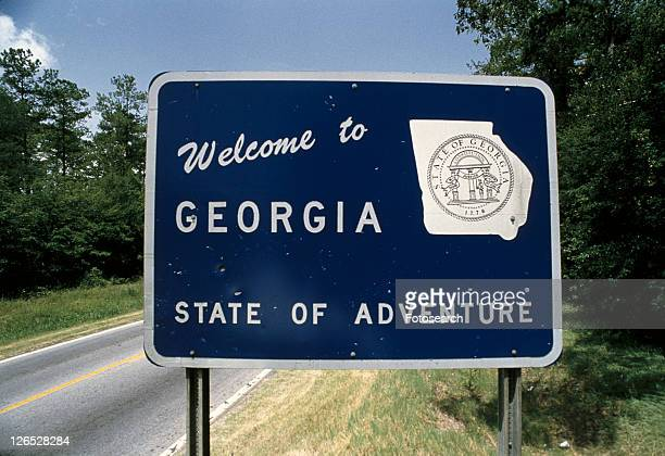 Road sign that says, welcome to Georgia