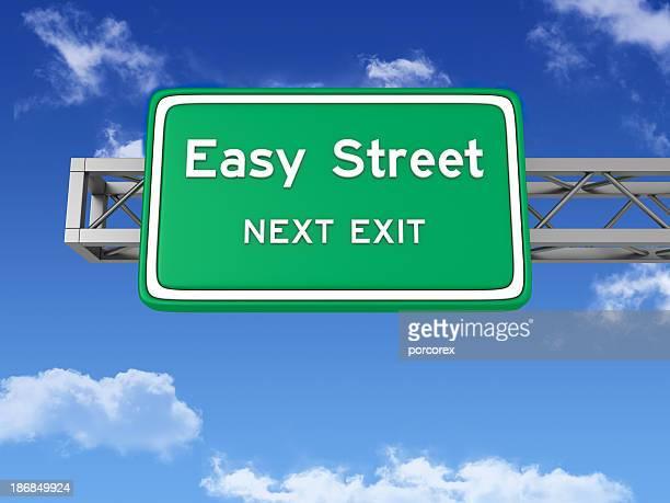 道路交通標識容易に通りとスカイ