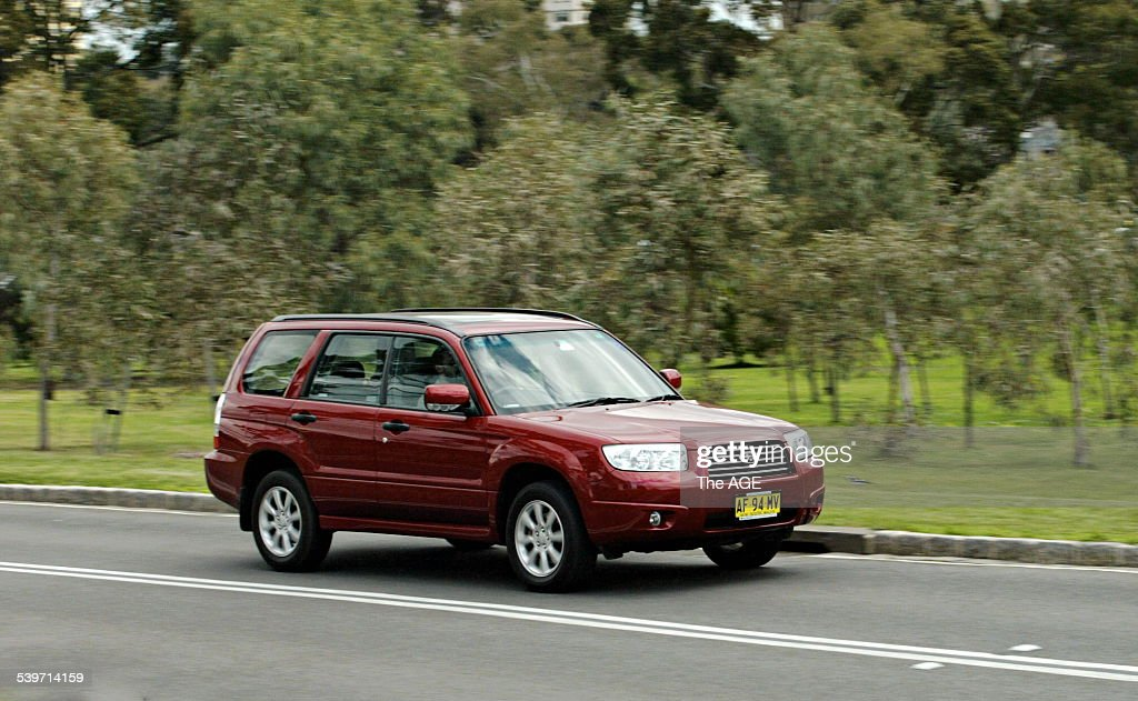 Road Test  Subaru Forester  13 September 2005 THE AGE DRIVE