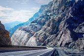 Road Through Mountains, Arizona
