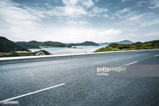 road through mountains, beijing, china - ningbo stock pictures, royalty-free photos & images
