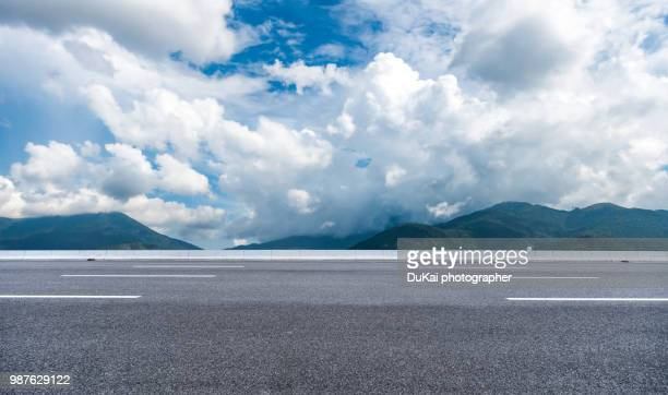 road through mountains, hongkong, china - mountain road stock pictures, royalty-free photos & images