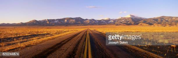 Road Through Nevada Desert