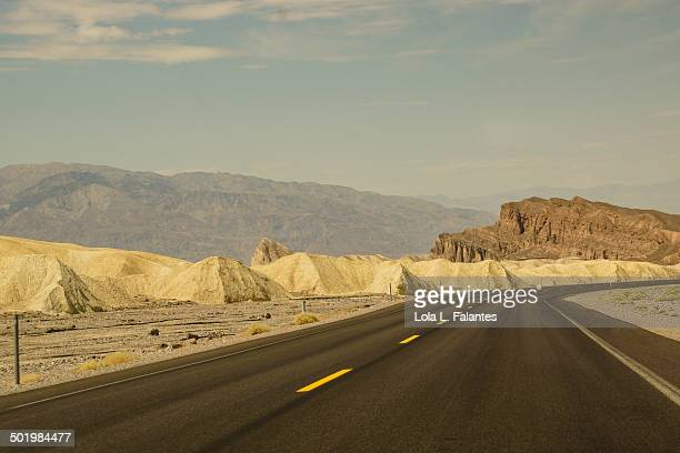A road through the desert