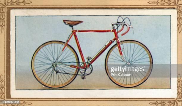 Road Time Trial Bicycle' 1939 From Cycling 18391939 [John Player Sons London 1939]Artist Unknown