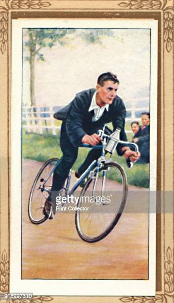 Road Time Trial Position' 1939 From Cycling 18391939 [John Player Sons London 1939]Artist Unknown
