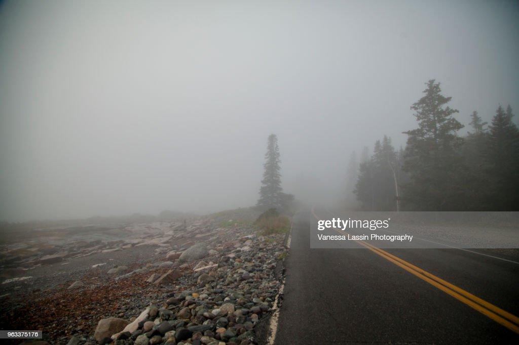 Road to Acadia : Stock Photo