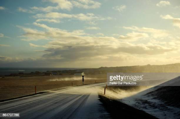 Road to Arnarstapi, Snæfellsnes peninsula, West Iceland