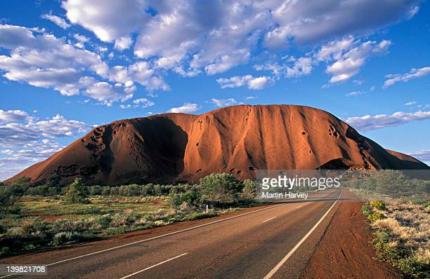 Road to Ayers Rock (Uluru), Kata Tjutu National Park, Australia