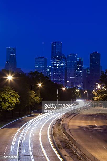 Road to Downtown in Houston